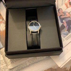 Movado museum watch new in box
